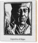 St. Augustine - Jlaug Wood Print