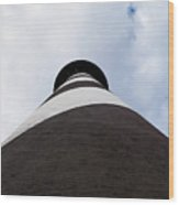 St. Augustine Lighthouse - From The Bottom Up Wood Print