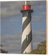 St. Augustine Lighthouse 11 Wood Print