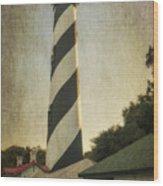 St Augustine Lighthouse Dsc00390_16 Wood Print