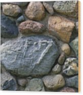 St. Augustine Stone Wall 2 090118 Wood Print