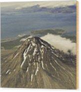 St. Augustine Volcano Wood Print