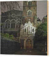 St Bartholomew The Great Church Wood Print