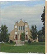 St. Basil's Church Utica, Ny Wood Print