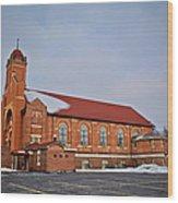 St Bernards Church Wood Print