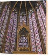 St Chapelle Paris Wood Print