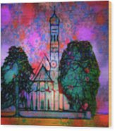 St. Coloman Wood Print
