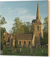 St Davids Church Cemetery 3 Wood Print
