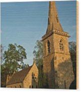 St Davids Church Wood Print