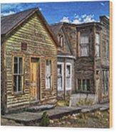 St. Elmo Ghost Town Wood Print