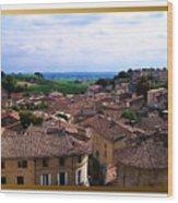 St. Emilion View Wood Print by Joan  Minchak