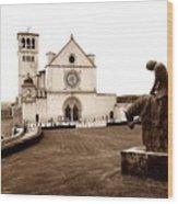 St. Francis Basilica, Assisi  Wood Print