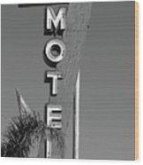 St Francis Motel Stockton Ca Wood Print