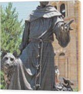 St. Francis Of Assissi Wood Print
