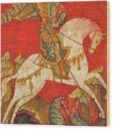 St George II Wood Print by Tanya Ilyakhova