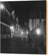 St. George Street Ghosts Wood Print