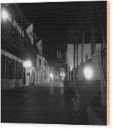 St. George Street Ghosts Wood Print