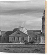 St Georges Church Portland Wood Print