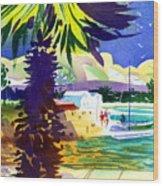 St. George's Harbour Wood Print