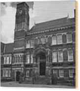 St Helens Town Hall Uk Wood Print