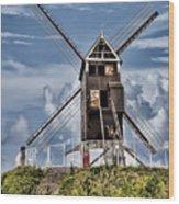 St. Janshuis Windmill Wood Print