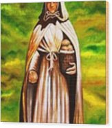 St Jeanne Jugan Of France Wood Print