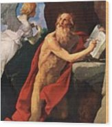 St Jerome Wood Print