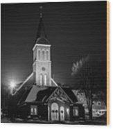 St Joes Church Mandan 4 Wood Print