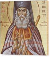 St John Of Shanghai And San Francisco Wood Print by Julia Bridget Hayes