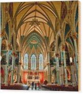 St John The Baptist Catholic Cathedral - Savannah Wood Print