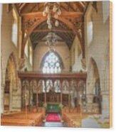 St John The Baptist Penshurst Interior Wood Print