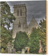 St John The Evangalist Stanmore Wood Print