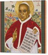 St. John Xxiii - Rlpjn Wood Print