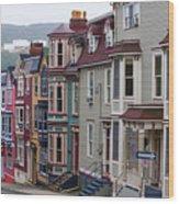 St Johns In Newfoundland Wood Print