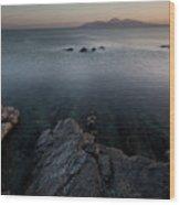 St John's Point ,blue Water  Wood Print