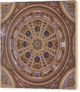 St. Josaphat Basilica Ceiling Wood Print