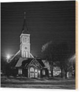 St Joseph Church Mandan Wood Print