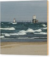 St. Joseph Mi Lighthouse Wood Print
