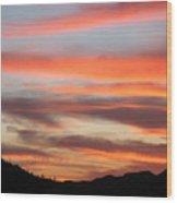 St. Joseph's Sunset Wood Print