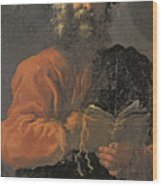 St Jude Thaddeus Wood Print