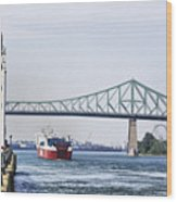 St Lawrence And Laronde Wood Print