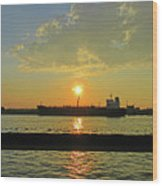 St Lawrence Sunset 3 Wood Print