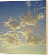 St Lawrence Sunset 6 Wood Print