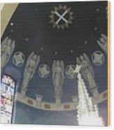 St Leo Angels Wood Print