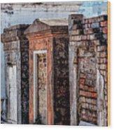 St. Louis 1 Tombs--nola Wood Print