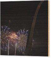 St. Louis 4th-5 Wood Print
