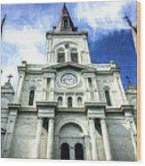 St. Louis Cathedral - Nola- Art Wood Print