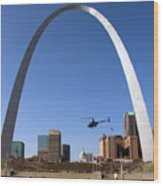St. Louis Wood Print