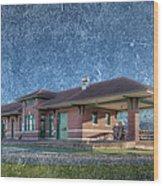 St Louis Iron Mountain Depot Wood Print