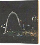 St. Louis Riverfront 1 Wood Print